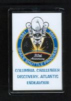 30 Years of the Space Shuttle Program 1981-2011 Fridge Magnet